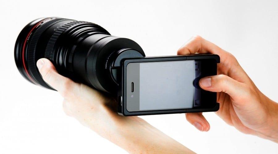 Obiectiv Tele pe iPhone 4