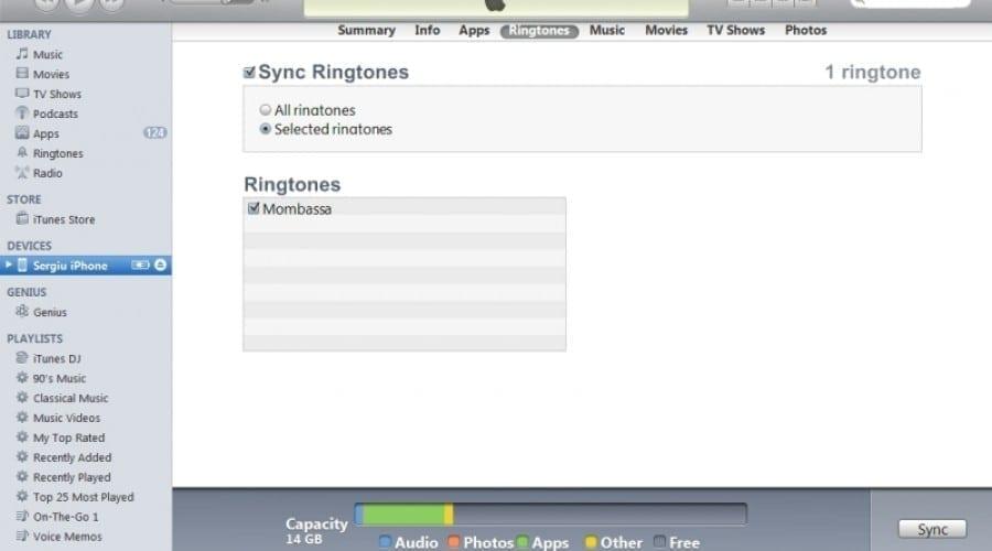 Creează-ţi un ringtone pentru iPhone, cu iTunes 10