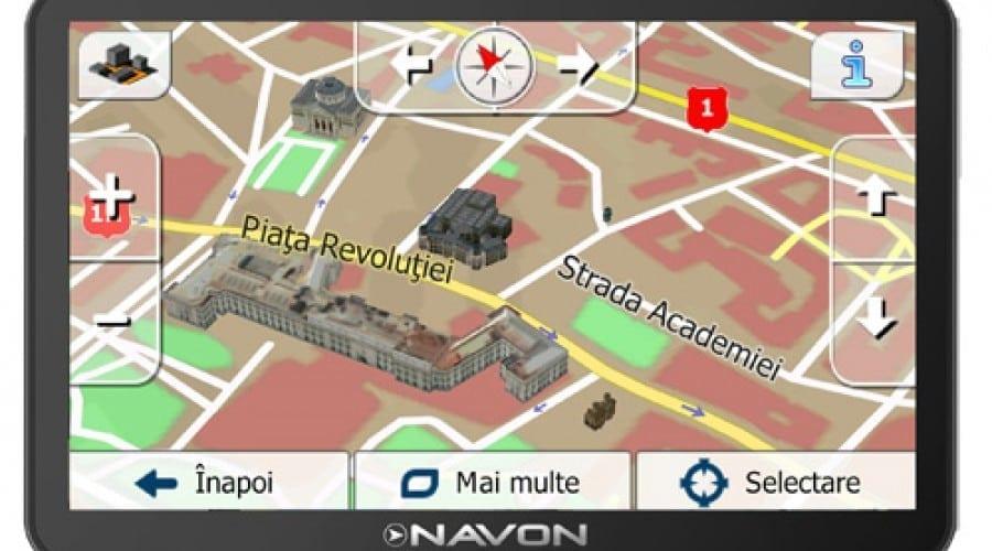 Sistemele de navigaţie Navon cu iGO 8, N490 RO, N490 Full Europe şi N670 Full Europe, disponibile şi în România