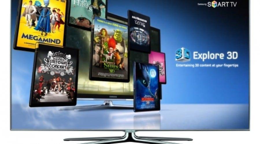 Samsung Galaxy S II ca telecomandă TV şi o prezentare a tehnologiei 3D
