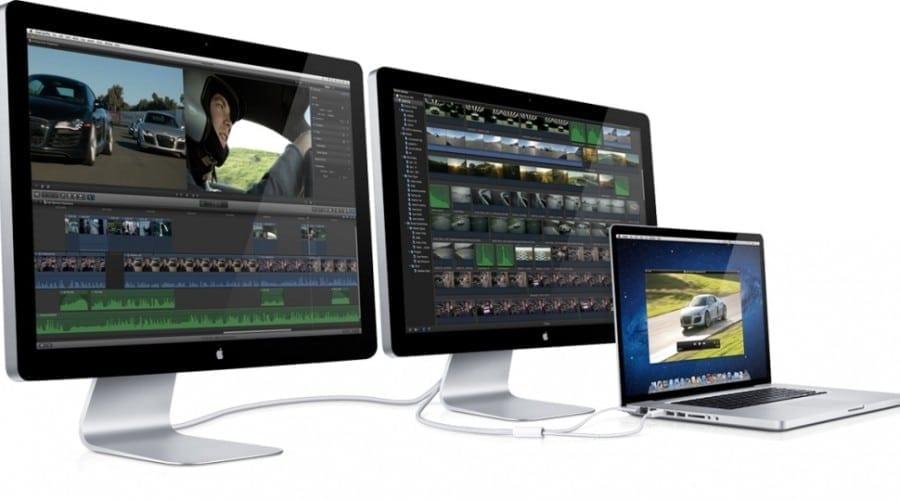 Thunderbolt integrat în monitoare: Apple Thunderbolt Display