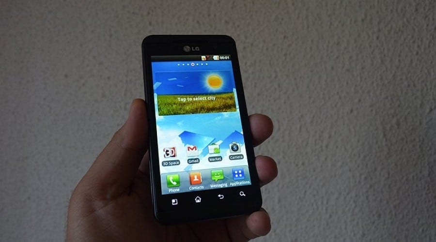 Review LG Optimus 3D