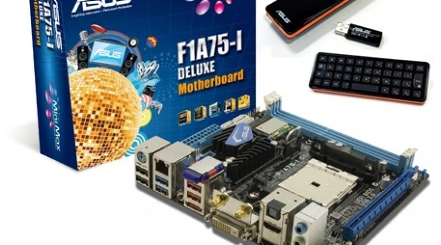 Asus lansează în România placa de bază F1A75-I DELUXE