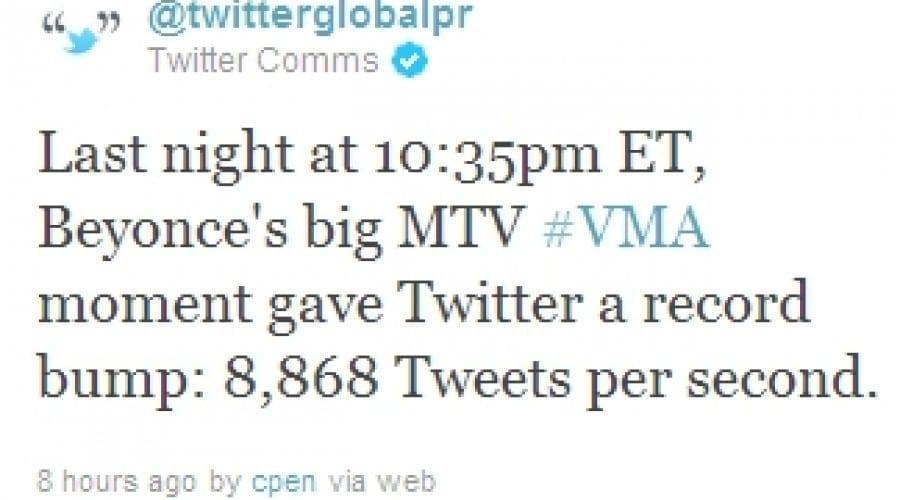 Anunţul sarcinii lui Beyonce a făcut înconjurul Twitter-ului