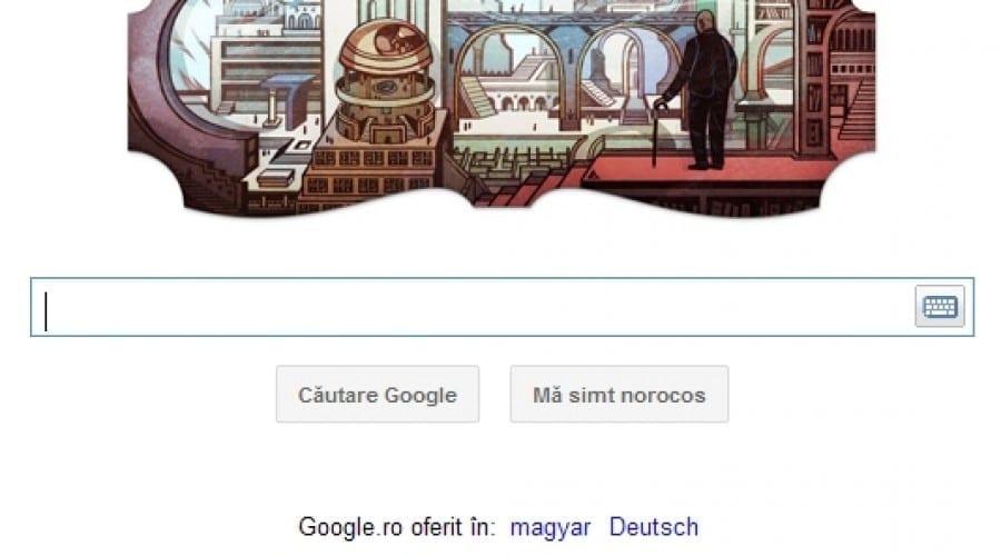 Google Doodle: 112 ani de la naşterea vizionarului Jorge Luis Borges