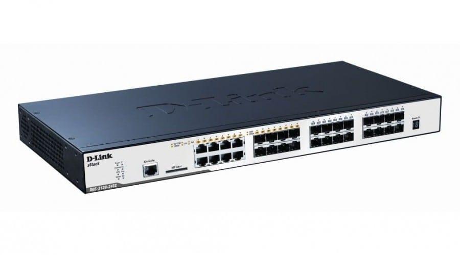 D-Link lansează noua serie de switch-uri DGS-3120