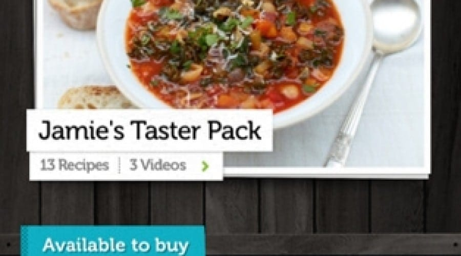 Jamie Oliver: Jamie's Recipes la jumătate de preţ
