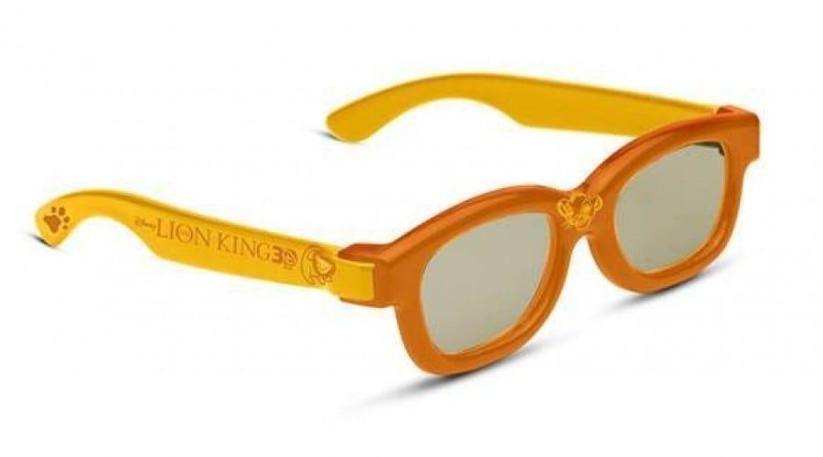 Lion King 3D soseşte cu o pereche de ochelari RealD speciali