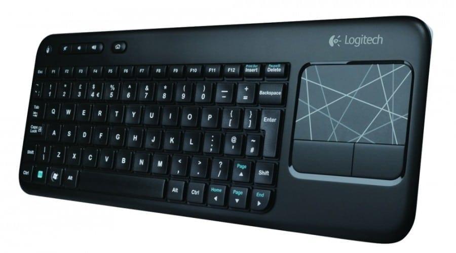 Logitech K400: Control total de pe touchpad