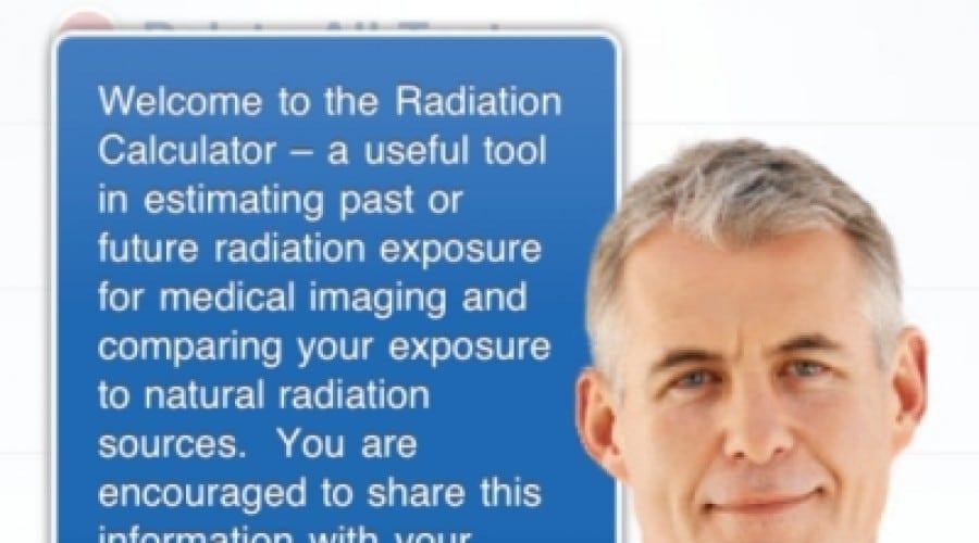 Ai idee câte radiaţii acumulează corpul tău? Află acum pe iPhone