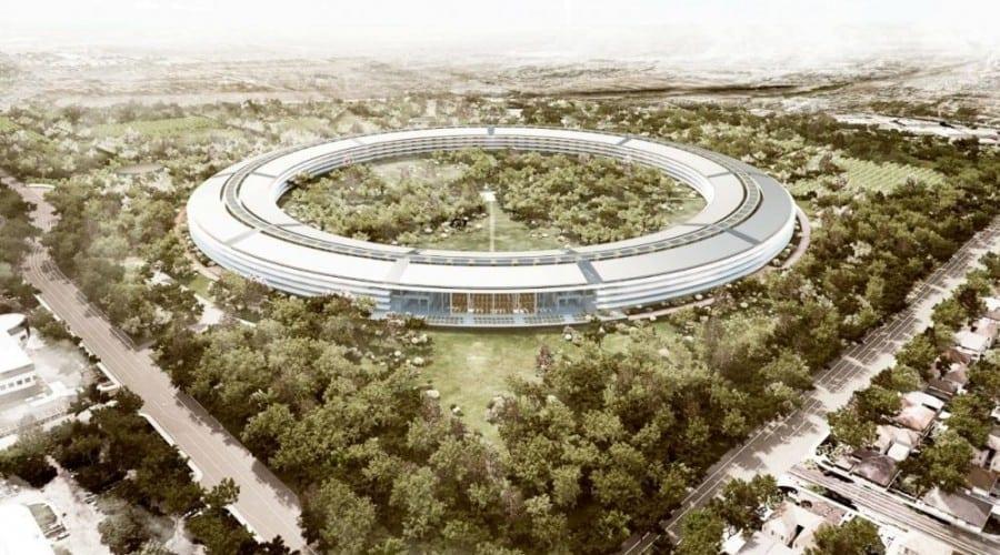 """Noul sediu Apple:""""Nava mamă"""", detaliată în imagini"""