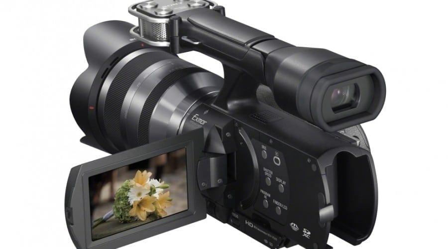 Sony lansează Handycam NEX-VG20E
