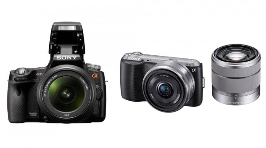 Sony NEX-C3 şi SLT A35: Noile aparate promit fotografii de excepţie