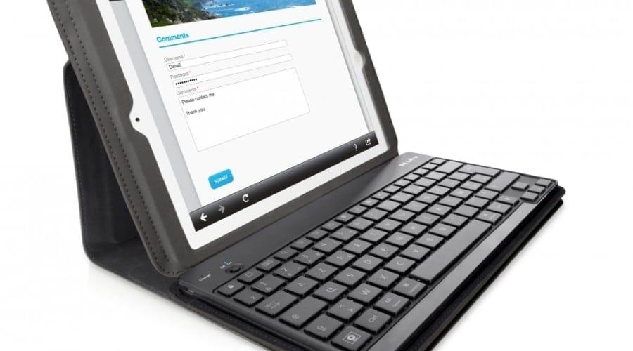 Tastatură Bluetooth pentru iPad 2: Belkin Keyboard Folio