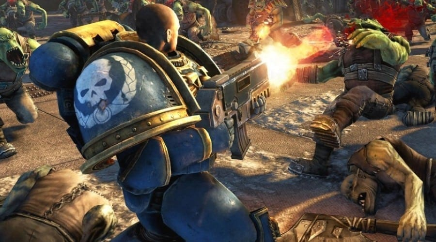 Warhammer 40.000: Space Marine soseşte în România pe PC şi PS3