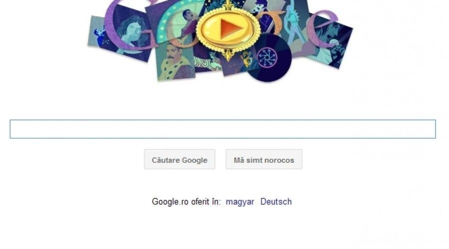 Google sărbătoreşte naşterea lui Freddie Mercury, legendarul solist al trupei Queen