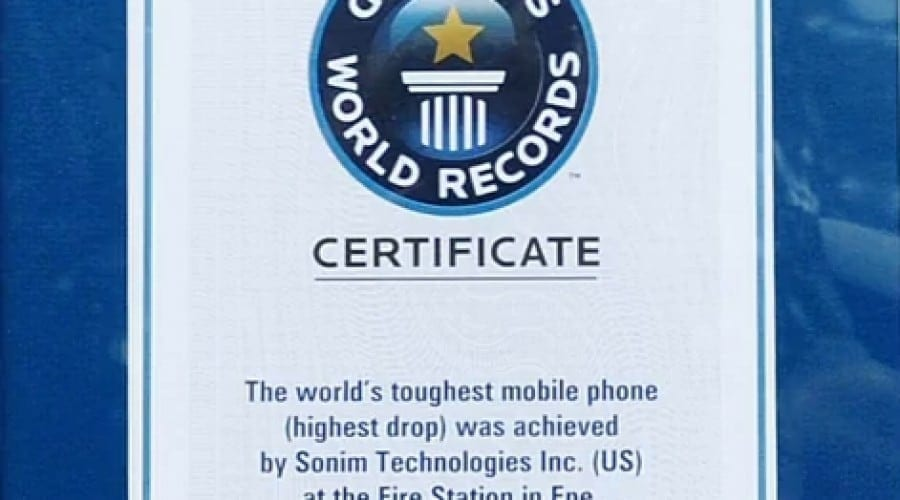 Sonim XP3300 Force e cel mai rezistent telefon din lume, conform Guinness World Record