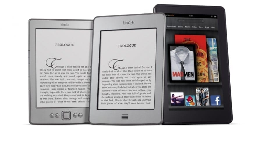 Amazon anunţă noua familie Kindle
