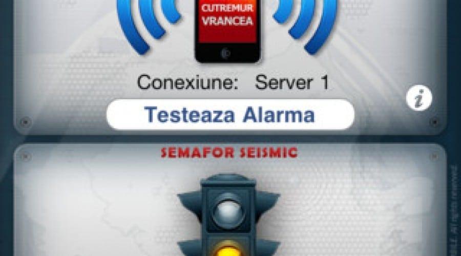 """""""Alerta Cutremur Vrancea"""" – Avertizare seismica direct pe mobil"""