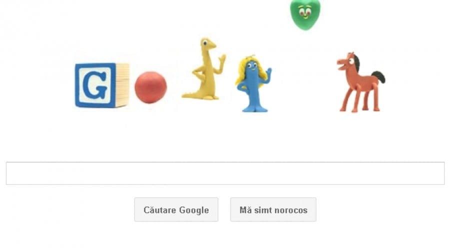 Art Clokey, părintele tehnologiei de filmare clay animation, sărbătorit astăzi de Google