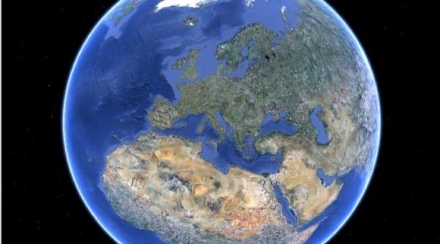 Google Earth trece de un miliard de descărcări