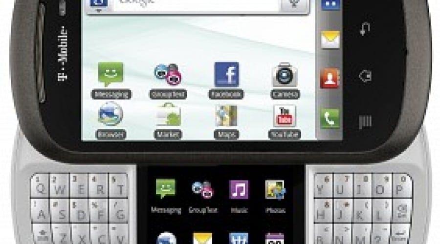 LG DoublePlay: Tastatură QWERTY şi ecran dublu