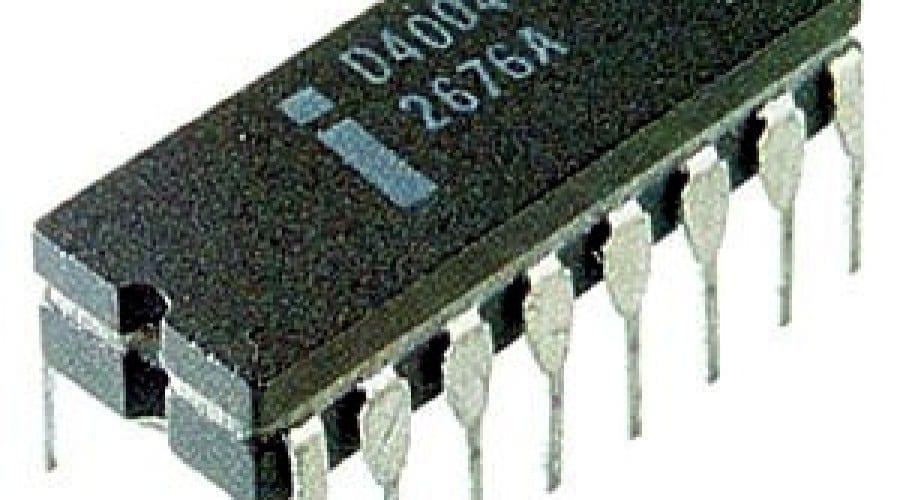 40 de ani de la primul procesor Intel