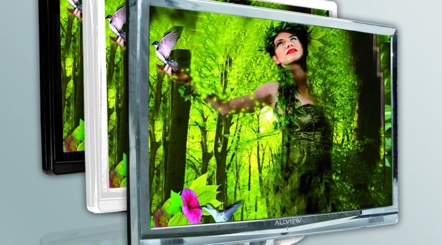 Allview ALED 60: LED TV accesibil