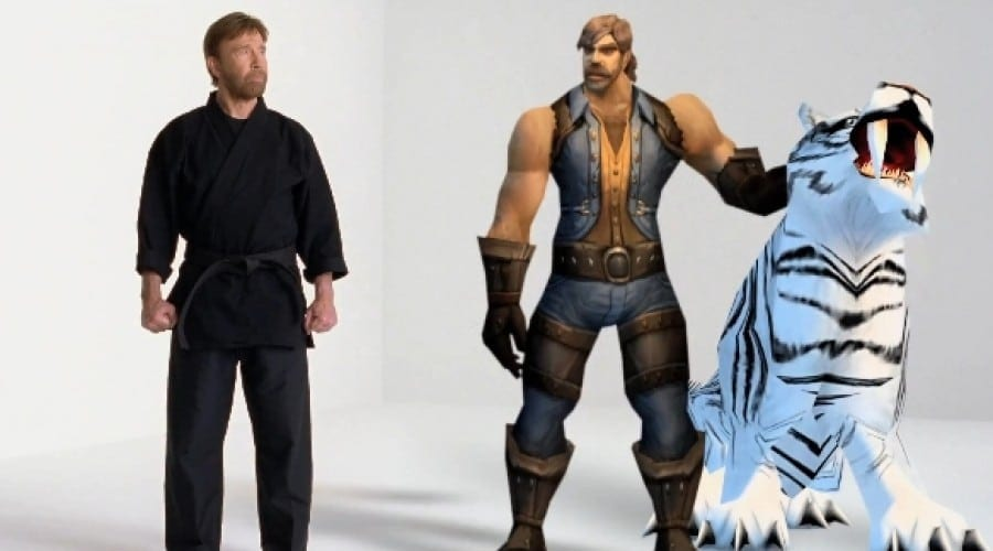 Chuck Norris face legea în World of Warcraft