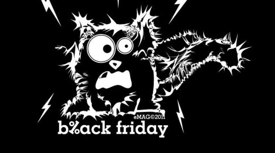 Black Friday: Vanzari de 4 milioane de euro până la ora 10 pentru eMag