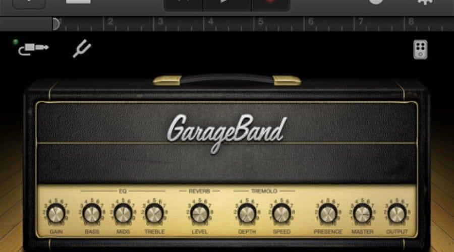 GarageBand e disponibilă acum pe iPhone şi iPod Touch