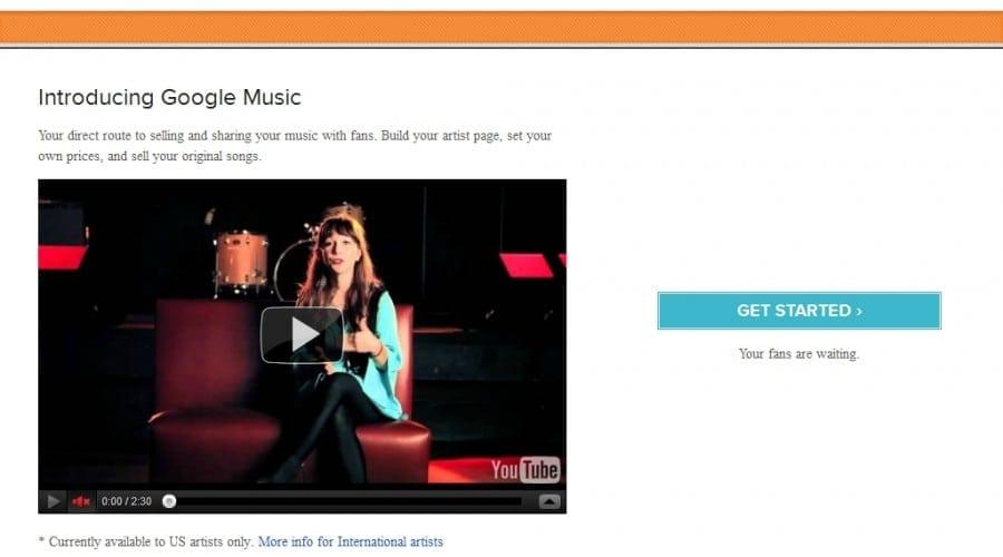 Google Music Artist Hub, o rampă de lansare pentru tinerii muzicieni