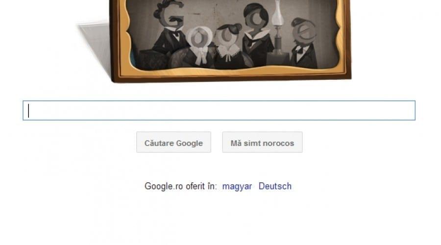 Google îl sărbătoreşte pe Louis Daguerre, inventatorul procesului de dagherotipie