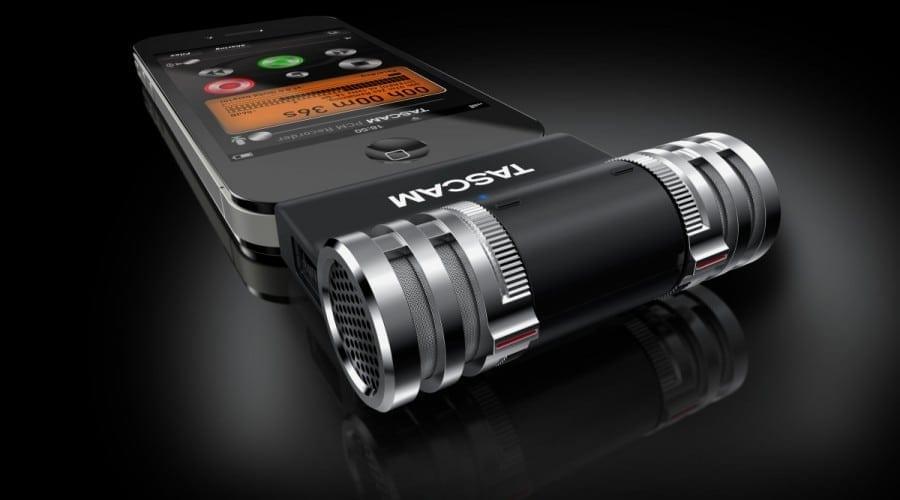 TASCAM iM2 Stereo: Microfon pro pentru iPhone şi iPad