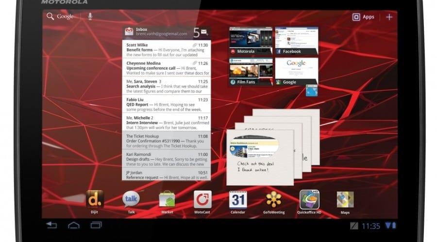 Motorola Xoom 2 şi Xoom 2 Media Edition: 599 şi 386 g, ecrane de 10.1 şi 8.2 inchi