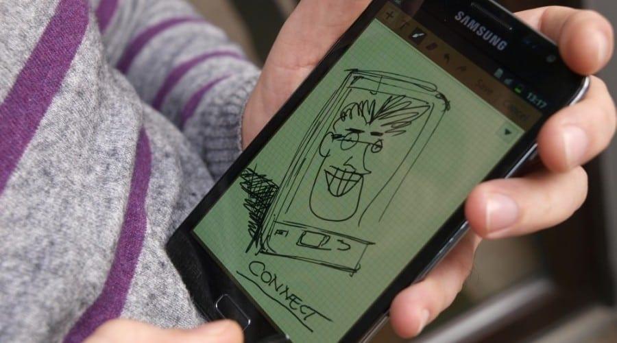 Samsung Galaxy Note: Ecran uriaş, distracţie pe măsură