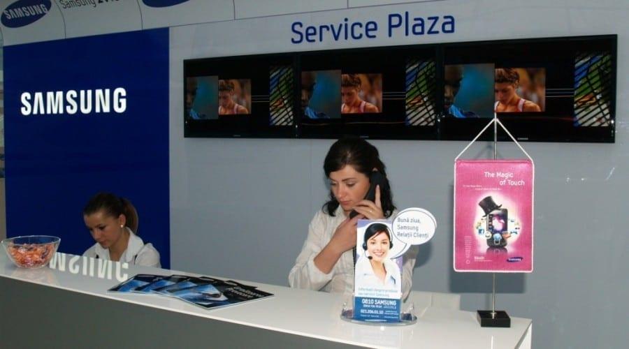 S-a deschis service-ul Samsung Plaza
