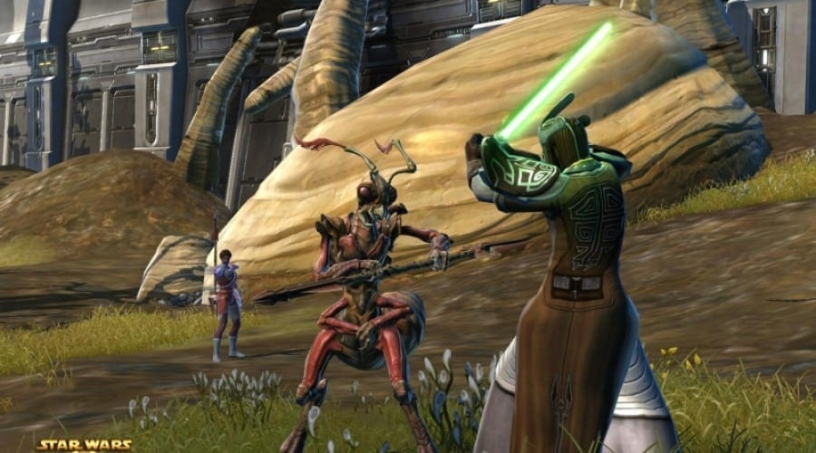Star Wars the Old Republic Beta prin Gamespot