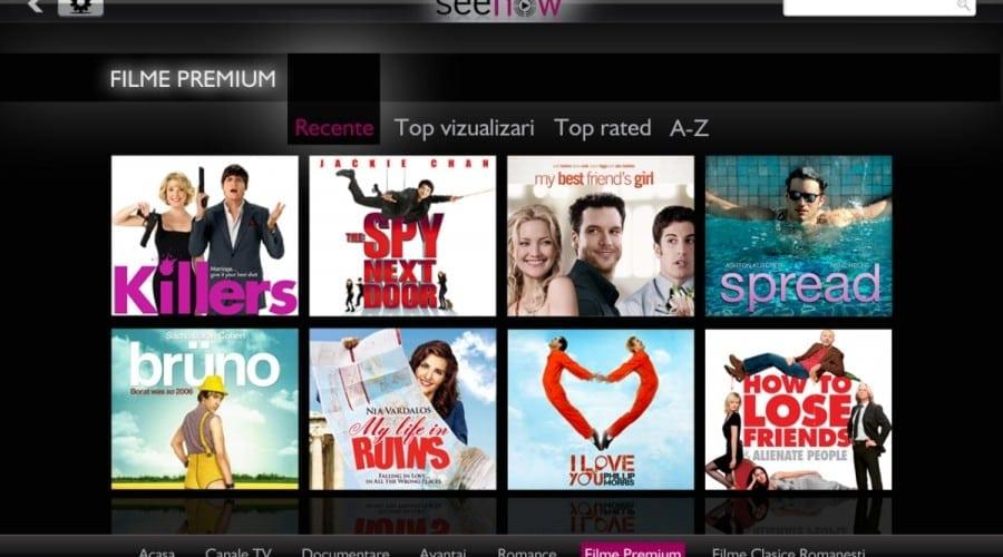 Samsung Galaxy Tab 10.1: Posturi TV romanesti pe tableta