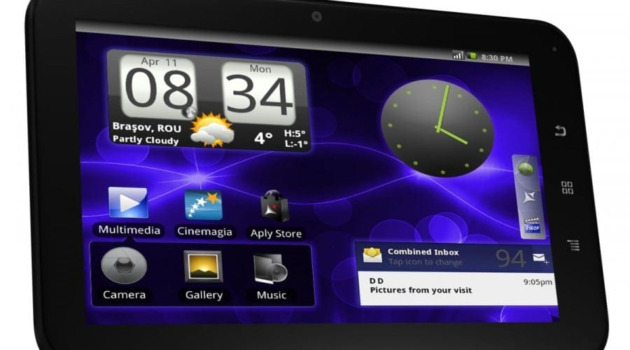 Allview AllDro Speed, tabletă cu Android 2.3 şi ecran de 7 inchi