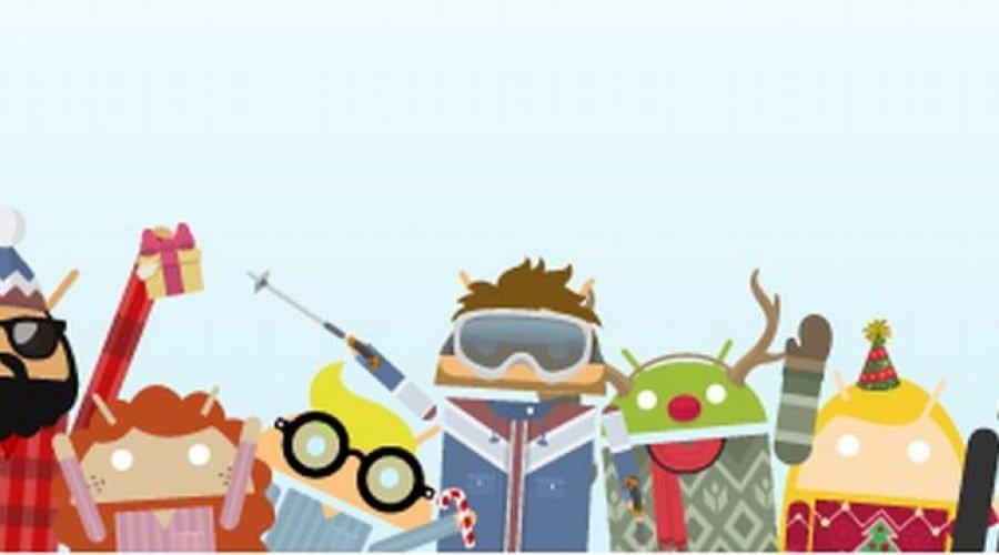 Androidify soseşte cu accesorii de iarnă
