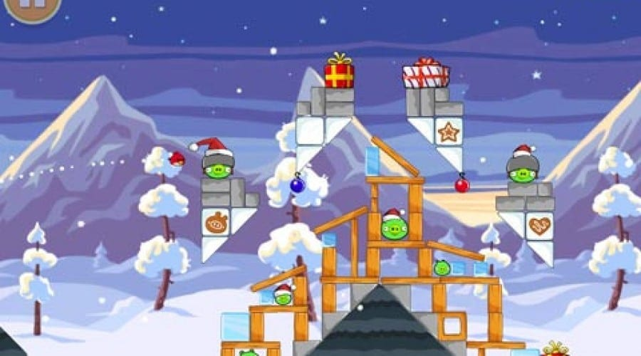 Angry Birds Wreck The Halls: Păsările înfuriate au intrat în sezonul sărbătorilor de Crăciun