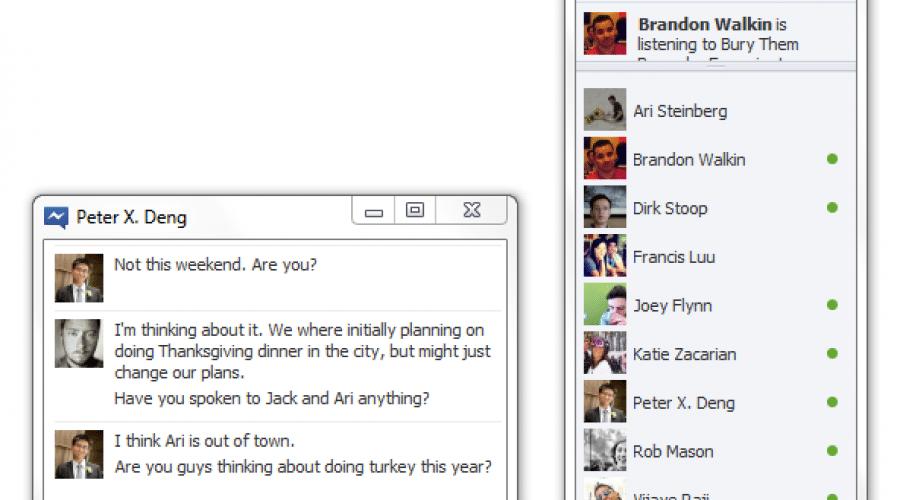 Facebook Messenger for Windows: Chat cu prietenii de pe Fb