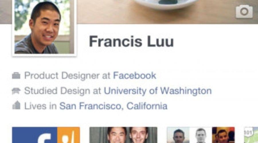 Facebook pentru iOS beneficiază acum de Timeline