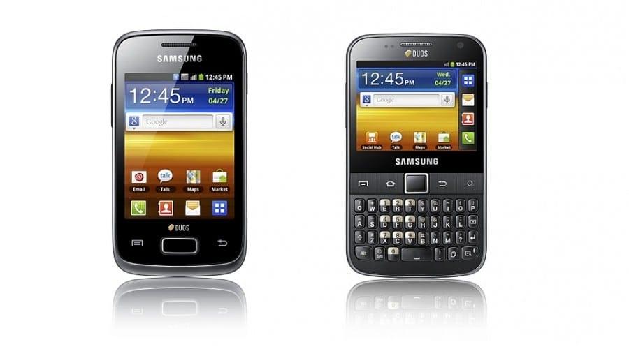 Galaxy Y DUOS şi Galaxy Y Pro DUOS: Smartphone-uri Dual-Sim de la Samsung
