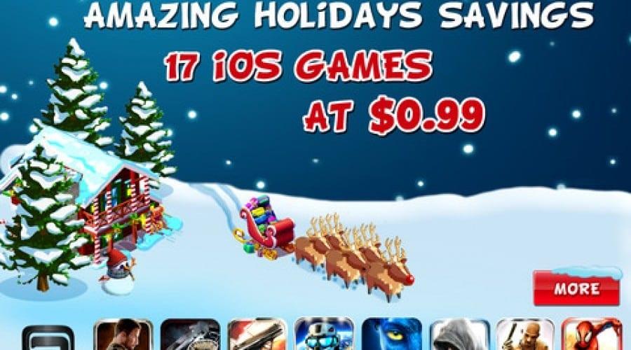 Reduceri de Crăciun: Jocurile Gameloft pentru iOS  la preţ de chilipir