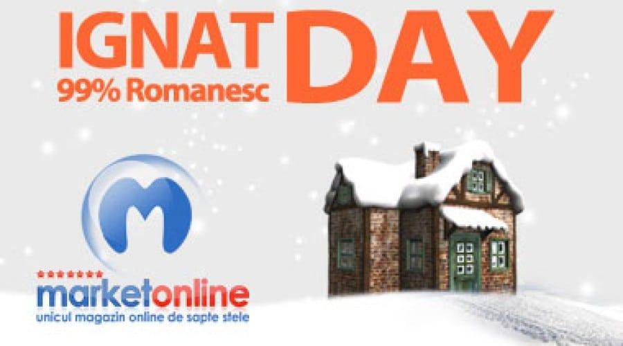 După Black Friday, Ignat Day vine cu reduceri în stil românesc