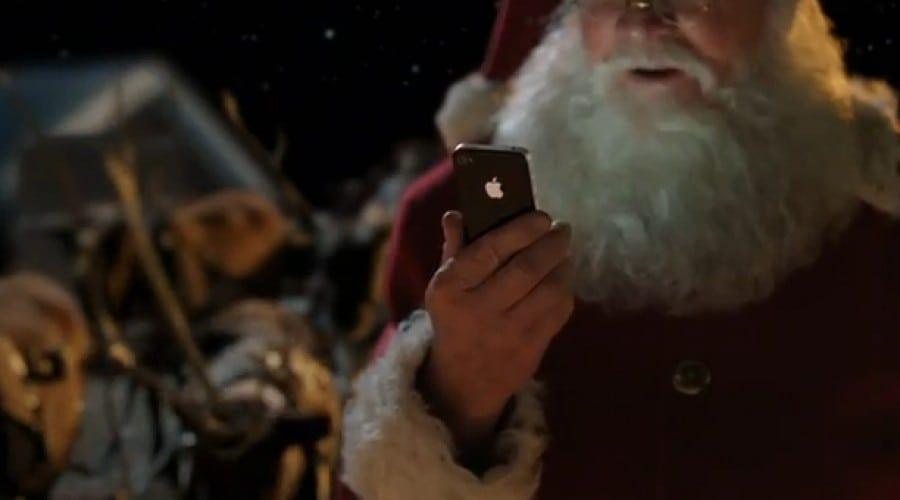iPhone 4S: Reclama Moş Crăciun – Siri a fost premiată
