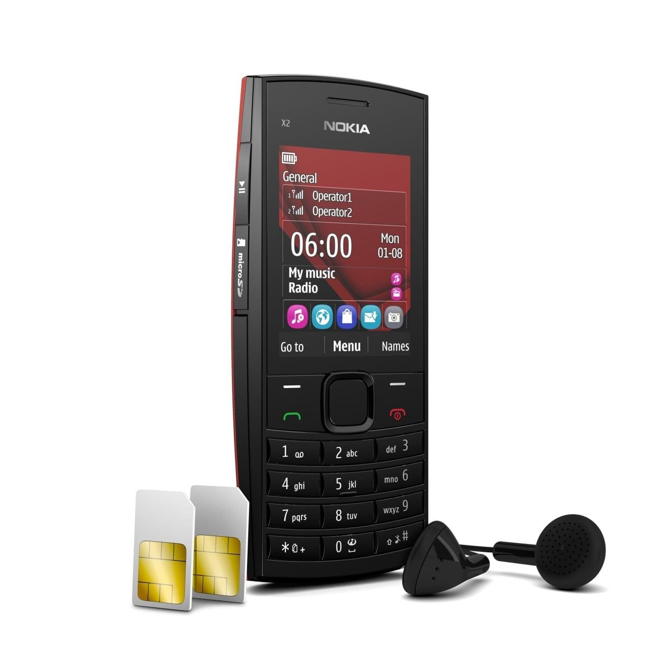 nokia x2 02 300x300 Nokia X2 02: Muzica, Dual SIM, la un pret de 60 ...