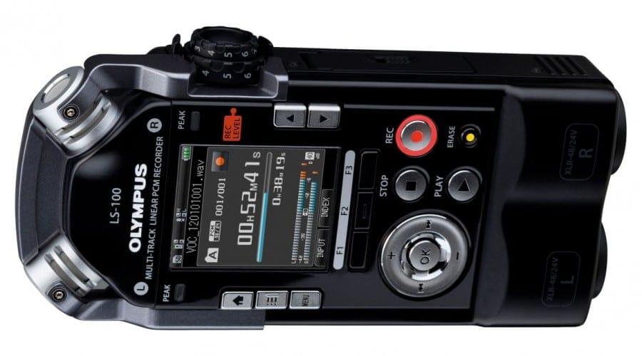 Olympus LS-100: Reportofon de ultimă generaţie
